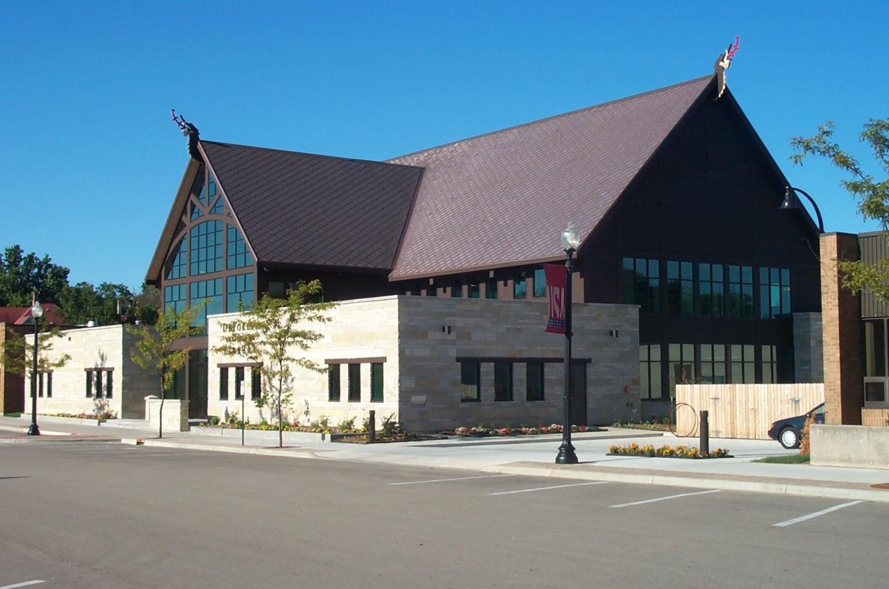 deforest public library contruction